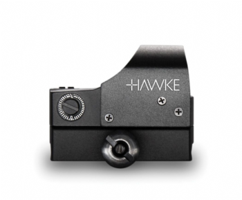 Hawke Reflex Auto Bright Adjust Red Dot Sight 1x25 Weaver Base 5 MOA 12133
